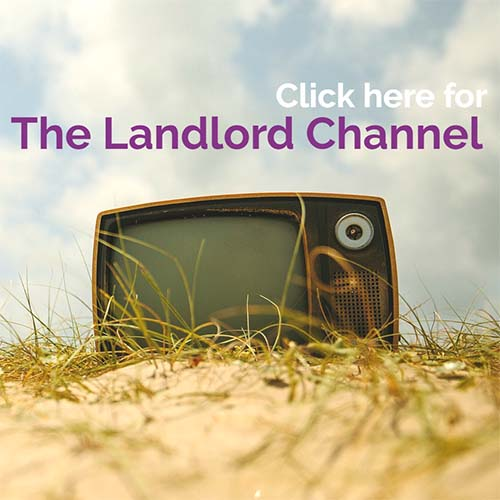 The landlord channel Button